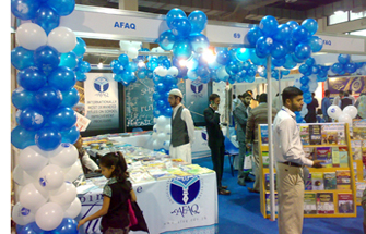 The difference between them and other publishers is that they also provide training to teachers. This publication was founded in 1998. They mostly focus books for pre primary to 8th class.  Regional Manager, Sales and Marketing Mr. Aamir said: There are more leading publishers not participated in this KIBF 2011 and public is not according to our expectations as compare to previous year.  For more Detail visit: www.afaq.edu.pk