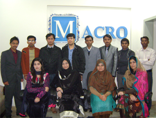 Macro Pak Solution Staff Group Photo