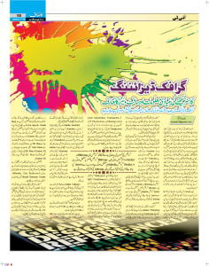 My this article was published in Daily Ausaf Sunday Magazine on 12 January 2014.