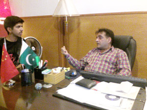Interview of Mr. Makhdoom Babar with Moneeb Junior