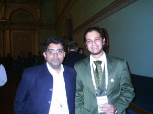 Mr. Aleem Ahmed with Muhammad Yahya, now days he is the Editor of Nature Middle East. Melbourne, Australia. 2007